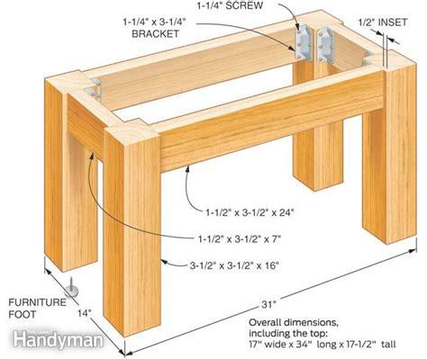 build  table   concrete top yard ideas