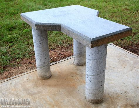 make concrete bench benchrest 171 daily bulletin