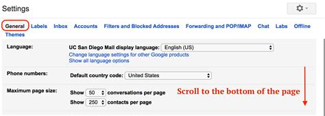 Out Of Office Gmail by Set Out Of Office Auto Response Message In Ucsd Gmail