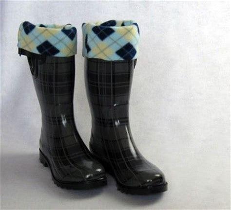 diy fleece boot socks sewing ideas