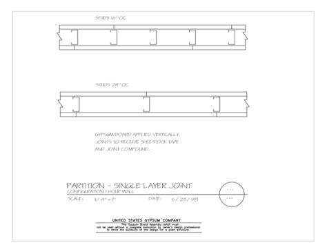 usg design studio 09 21 16 002 gypsum board assembly