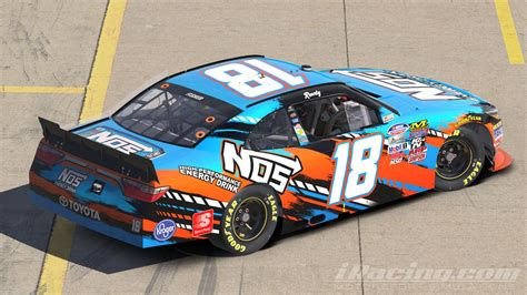 energy drink 2016 updated 2016 kyle busch nos energy drink by jacob fisher