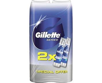 Gabag Gel 200 Ml 2 Pack gillette pack series 2x200 ml gel 2 pack gillette