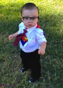 Diy clark kent costume for babies