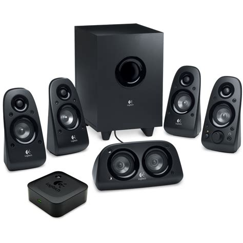 Speaker Wireless logitech surround sound speakers z506 and wireless speaker adapter for bluetooth