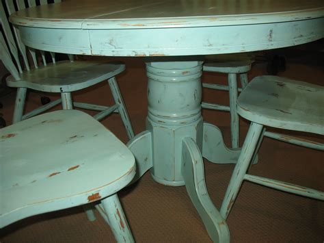 shabby chic dining table artistic color decor best on