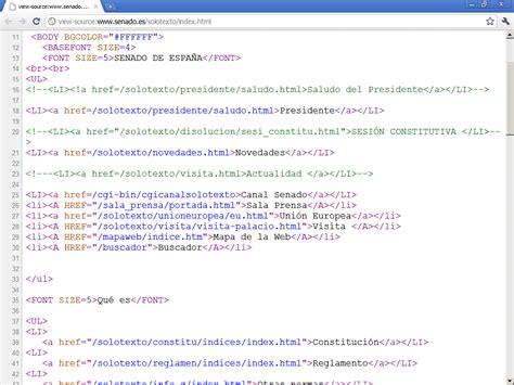imagenes para web html accesibilidad web senado de espa 241 a 1