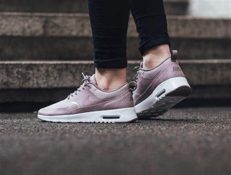 Nike Air Max Thea shades of purple on the nike air max thea textile kicksonfire