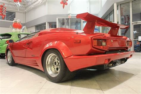 Lamborghini Countach 1990 by 1990 Lamborghini Countach 1 Owner With Only 3100kms For