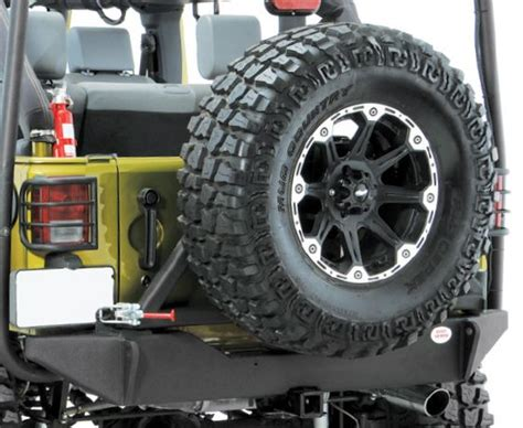 jeep body armor bumper body armor 4x4 rear high clearance bumper and tire carrier