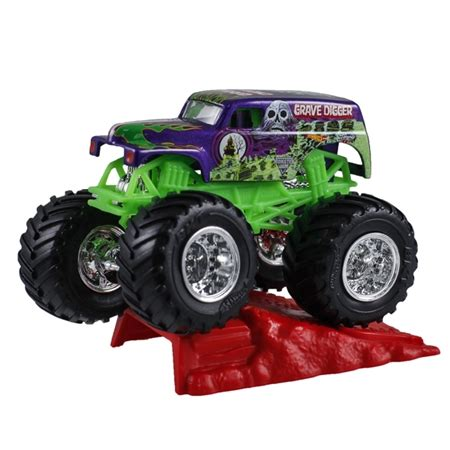 purple grave digger truck 1 64 wheels grave digger purple stunt r