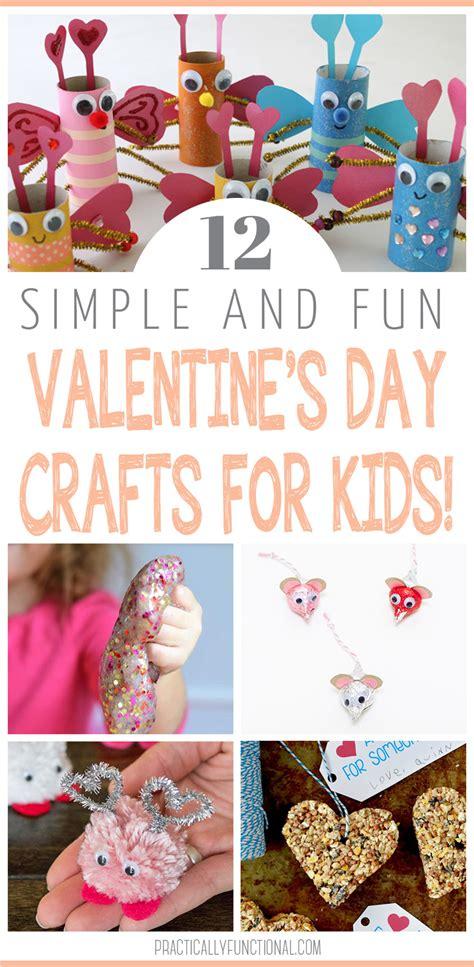 12 valentine day 12 valentine s day crafts for kids