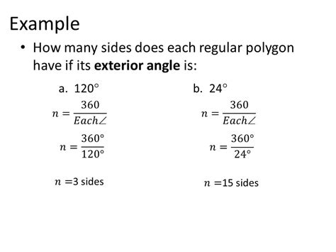 How Many Interior Angles Does A Polygon by 5 2 Exterior Angles Of A Polygon Ppt