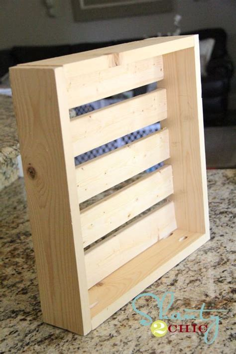 diy crate shelf wood projects pinterest