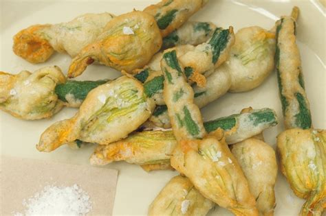 flower food recipe crab stuffed zucchini flowers recipe dishmaps