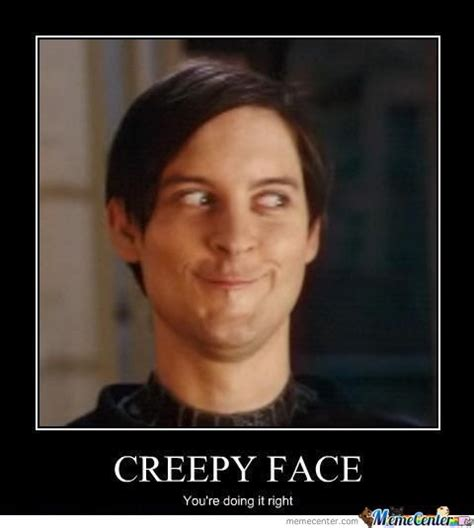 Creepy Face Meme - creepy face by pintsizerage meme center