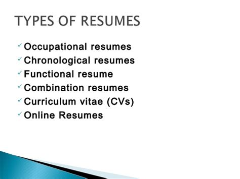 resume writing powerpoint resume writing ppt