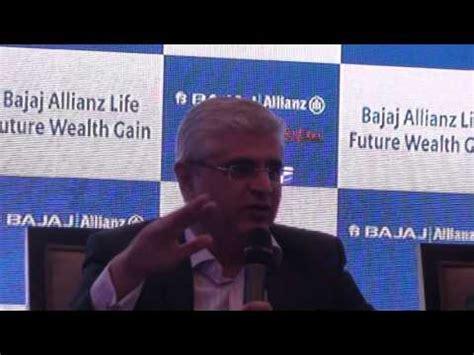 bajaj allianz policy fund value bajaj allianz launched future wealth gain brandturks