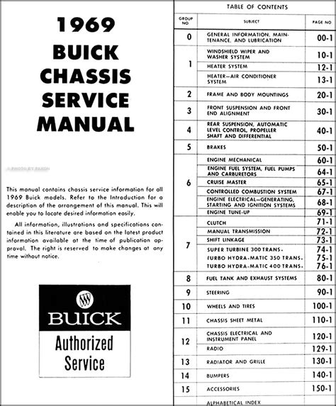auto repair manual online 1987 buick lesabre engine control 1969 buick repair shop manual original gs skylark riviera lesabre