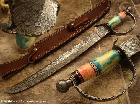 Pisau Tertajam sword of damascus pedang tertajam di dunia