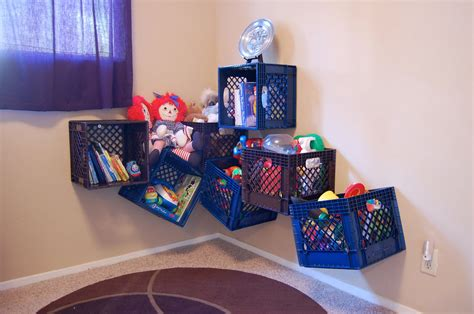 toy room storage being frugal sally milk crate toy storage