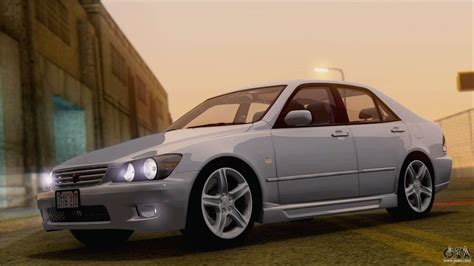 toyota altezza toyota altezza rs200 2004 hqlm for gta san andreas