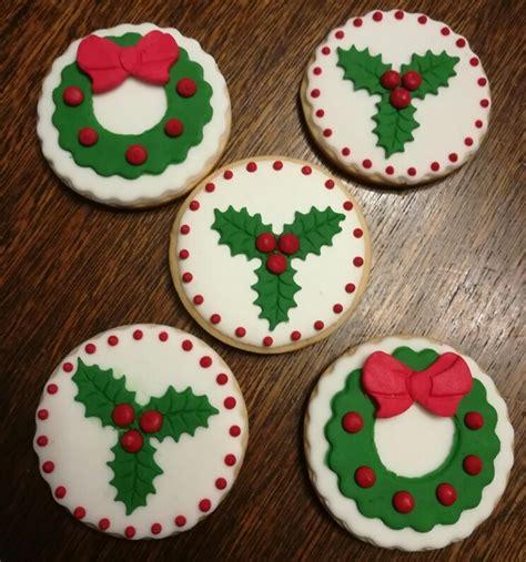 decoracion de galletas galletas decoradas para navidad 35 00 en mercado libre