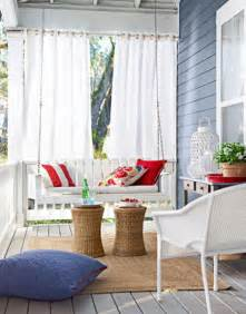 Porch Curtains Ideas Front Porch Ideas That Say Welcome The Decorating Files