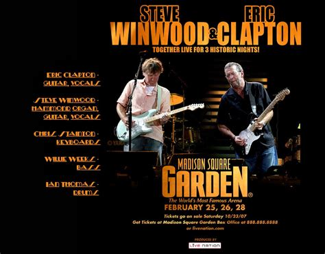 eric clapton and steve winwood square garden