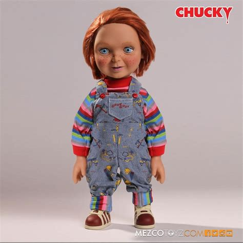 Mezco Child S Play Chucky 5 Inch Figure mezco child s play chucky 15 inch doll kapow toys