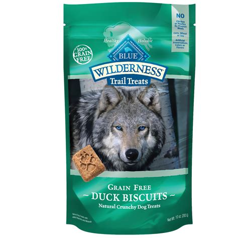 blue buffalo wilderness puppy wildnerness duck biscuits treats from blue buffalo blue buffalo treats
