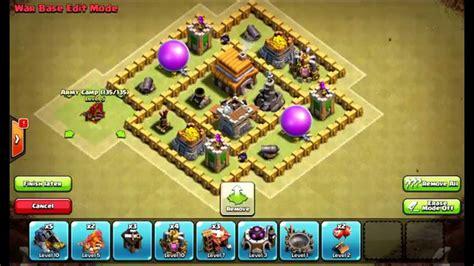 best layout coc war town hall level 5 war defense www pixshark com images