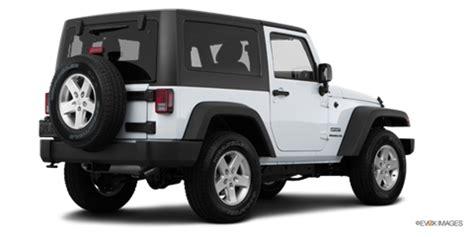 Jeep Wrangler Base Price 2016 Jeep Wrangler Sport New Car Prices Kelley Blue Book