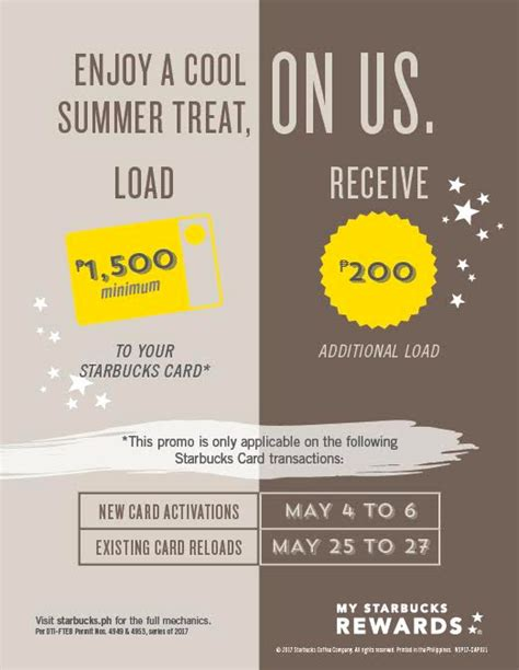 How To Activate Starbucks Gift Card - a special summer treat awaits for starbucks cardholders this may flowgalindez com