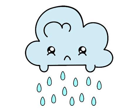 imagenes de la tristeza para colorear dibujo de nuve triste pintado por en dibujos net el d 237 a 16