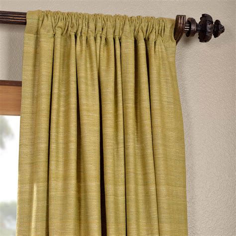 curtains in spanish get spanish moss raw silk curtain panels silk drapes