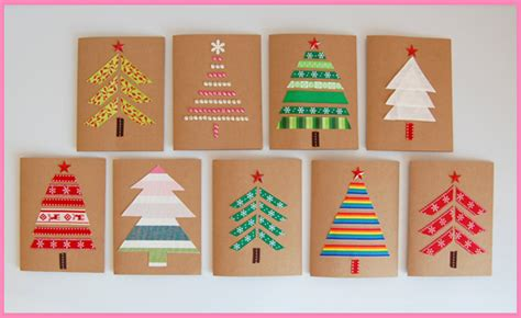 lada fai da te carta selber machen weihnachtskarten basteln himbeer magazin