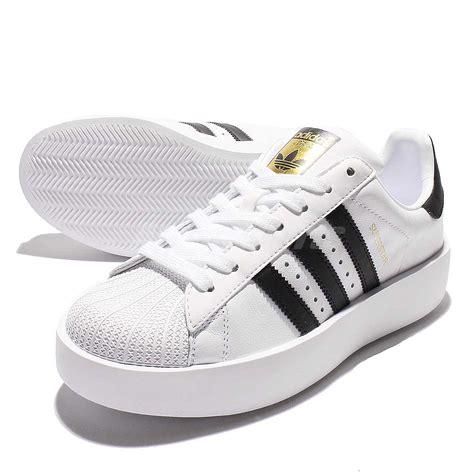 adidas originals superstar bold platform w white gold classic shoes ba7666 ebay
