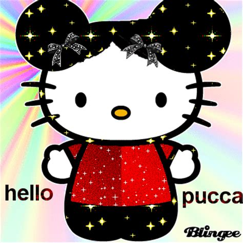 imagenes de hello kitty y pucca hello pucca picture 125151362 blingee com