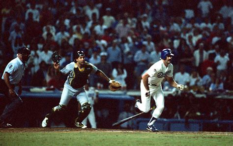 the beginning kirk gibson s world series home run in