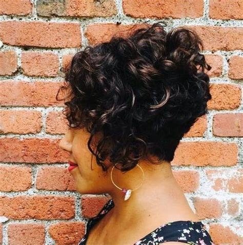 black women with stacked bob 50 different versions of curly bob hairstyle