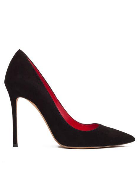 zapatos salon zapatos de sal 243 n en ante negro tienda de zapatos pura