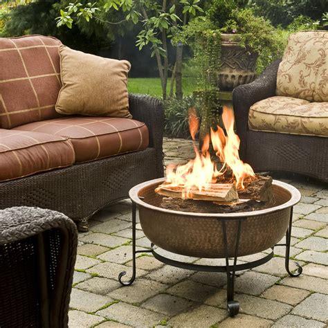 vintage outdoor fireplace cobraco ftcopvint c vintage copper pit