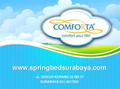 Bed Comforta No 3 comforta bed surabaya