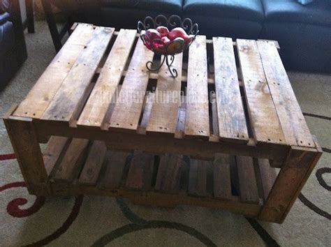 Pallet Coffee Tables When I M Not Making Dresses How To How To Make A Coffee Table Out Of Reclaimed Wood