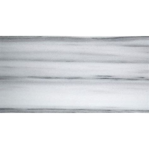emser metro white 3 in x 6 in marble floor and wall tile