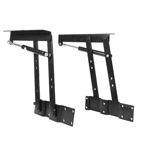 2x lift up coffee table mechanism hardware top lift frame