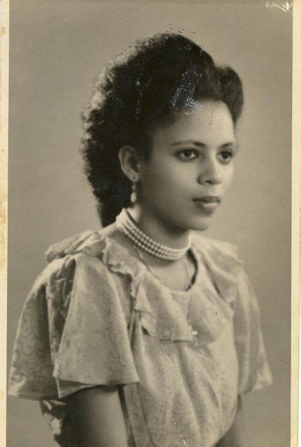 hair history in the 1930s circa late 1930s early 1940s vintage black glamour
