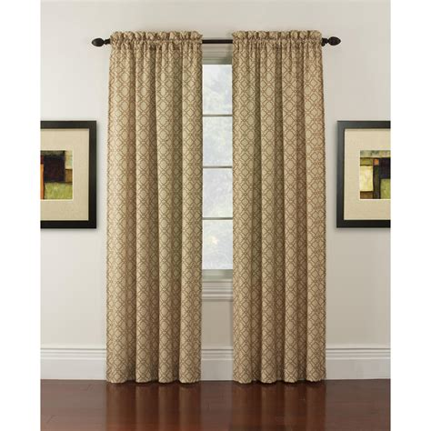 lees curtain company upc 028967017459 essential home wilmont casual panel tan