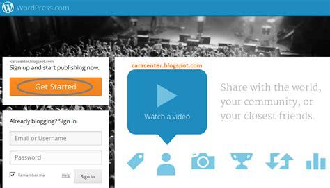 cara membuat blog khusus video cara membuat blog gratis di wordpress n blogspot kilat